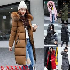 Plus Size, fur, Invierno, fashion jacket