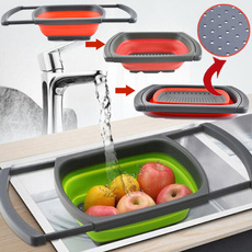 water, siliconestrainer, collapsible, retractable