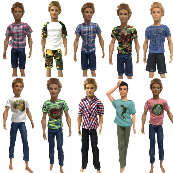 T-shirt and Pants for Dolls. №156 Clothes for Ken Doll
