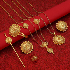 hair, eritreanjewelryset, ethiopiajewelryset, gold