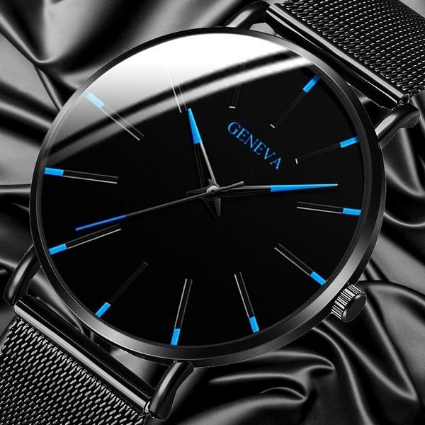 Steel, minimalist, quartz, fashion watch