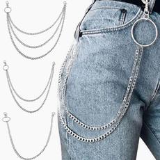 Jeans, punkchain, pantschain, Waist