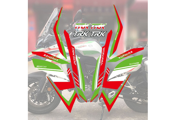 For Benelli TRK502 Decals 3D Sticker Motorcycle Tank Sticker Tank Pad Protector