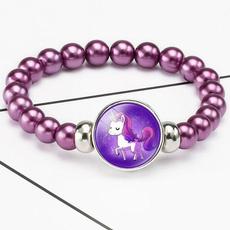 party, bangle bracelets, Elastic, Bracelet Charm