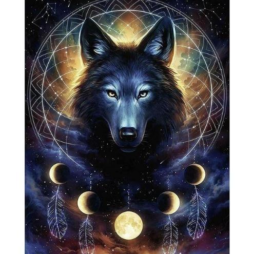 DIAMOND, Home Decor, wallstickerwolf, diamondpaintingwolf