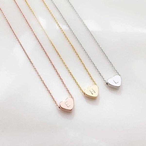 Heart, Flowers, Jewelry, Chain