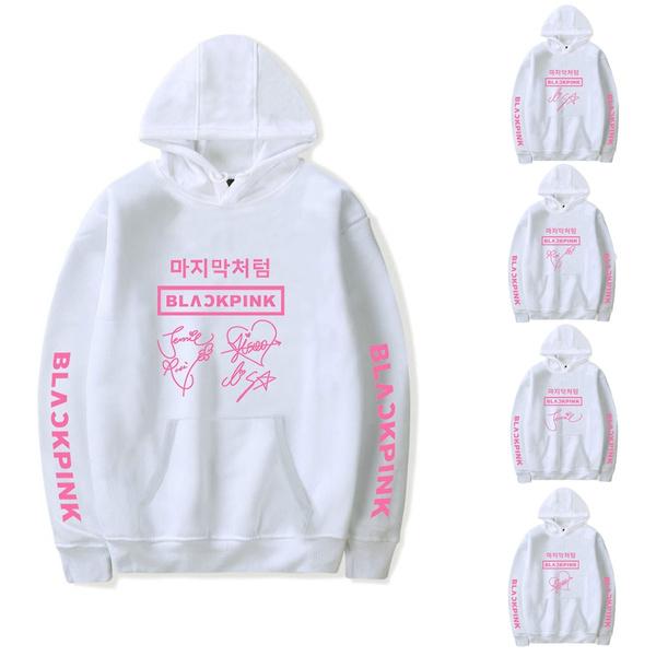 Couple Hoodies, K-Pop, Plus Size, Rose