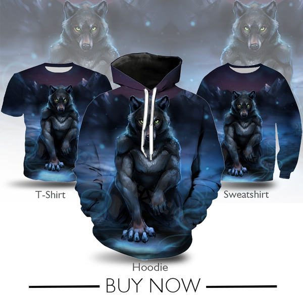 Fashion, art, Shirt, werewolf