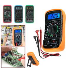 volttester, acdc, digitalmultimeter, digitalammeter