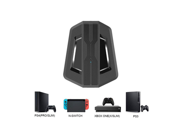 DishyKooker Mouse Keyboard Converter Adapter for PS4//PS3//XBO XONE//Xbox 360 Switch Converter Accessory