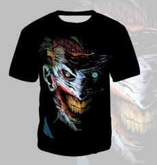 Summer, Fashion, Shirt, jokerprint