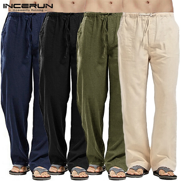 Plus Size, cottonlinen, Casual pants, pants