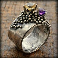 Antique, Jewelry, Wedding, silver