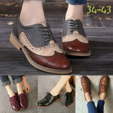 Flats, collegestyle, shoes for womens, Spring/Autumn