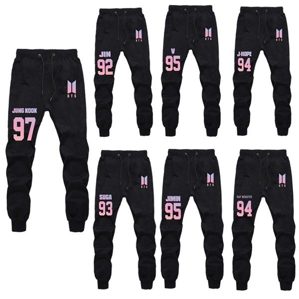 btssweatpant, K-Pop, trousers, pants