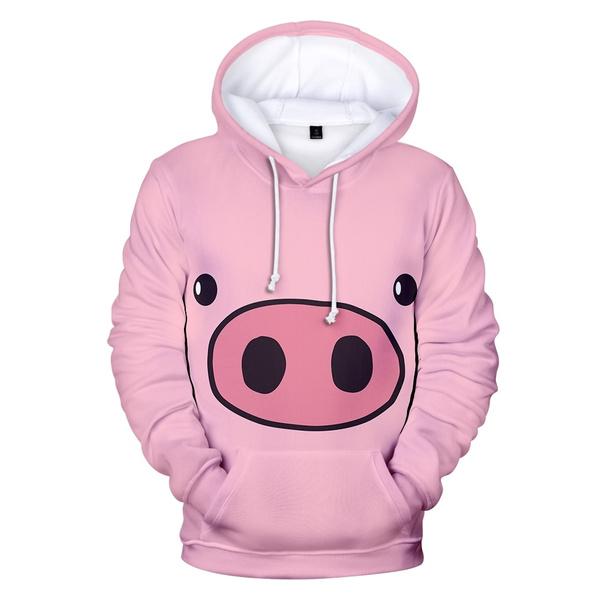 cute, Fashion, 3D, Pig