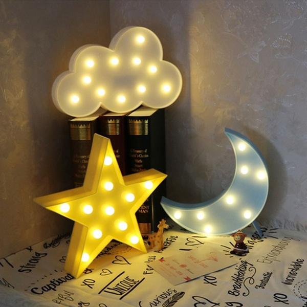 Night Light, nightlightled, lovely, kidsroomdecor