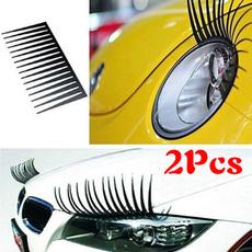 cartruckpart, carheadlight, eyelashsticker, decoration
