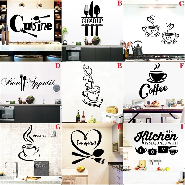 Kitchen, Coffee, cuisinewallsticker, Restaurant