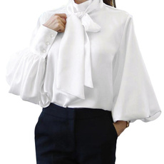 shirtsforwomen, Plus Size, Office, Long Sleeve