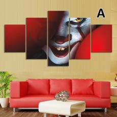 thejokerfigure, Joker, walldecorpainting, horrormovie