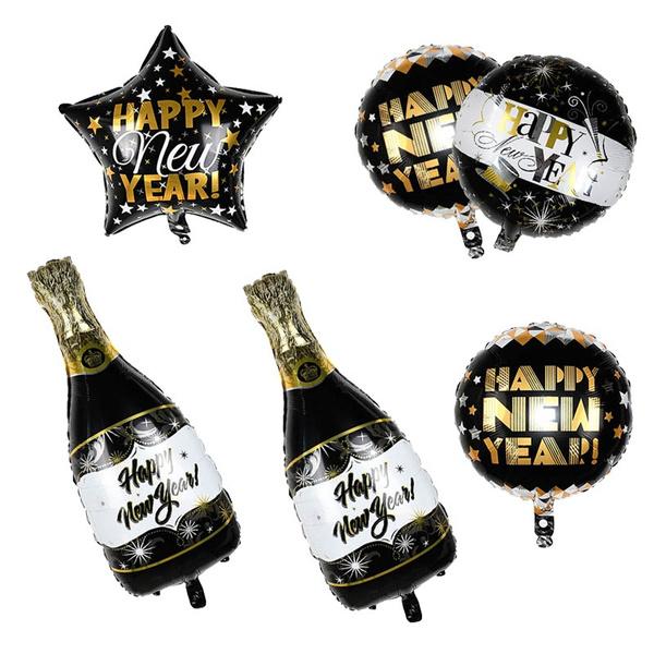 foilballoon, gold, roundballoon, decoration
