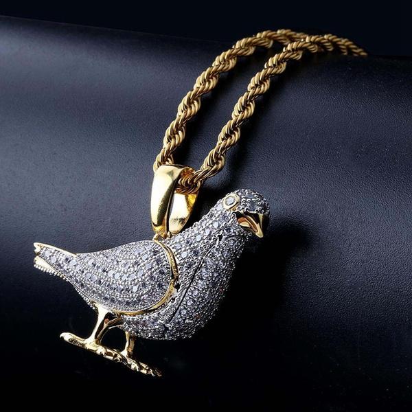 Copper, Diamond Necklace, punk necklace, Jewelry