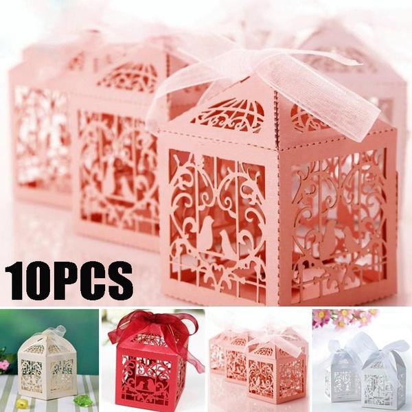 Box, Shower, ribbonbox, weddingribbon