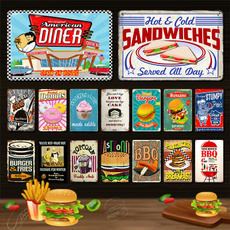 fastfood, Cafe, Restaurant, Vintage