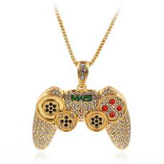 Steel, mens necklaces, keepsakenecklace, gemstonenecklace