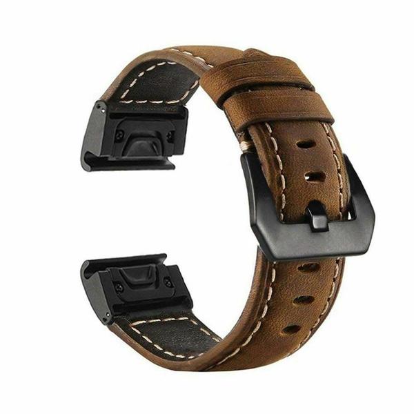 genuineleatherband, garminwatchband, Gps, leather