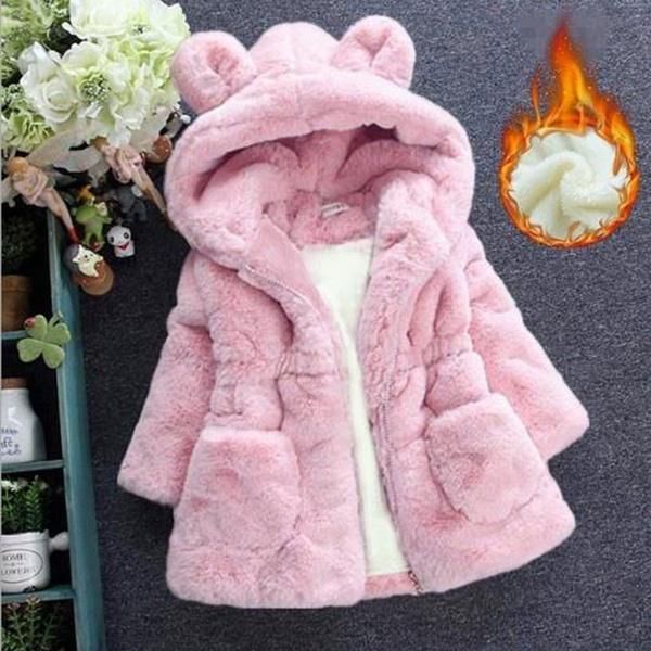 cute, Fleece, hooded, fur