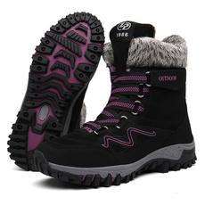 ankle boots, Plus Size, flatsboot, Waterproof
