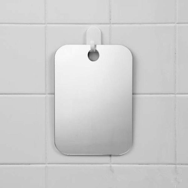Anti Fog Shower Mirror Bathroom Fogless Fog Free Mirror for Travel anxin