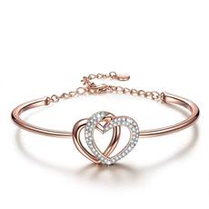 Crystal Bracelet, Love, Jewelry, Crystal Jewelry