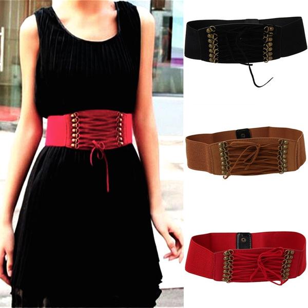 Summer, wide belt, Wool, velvet