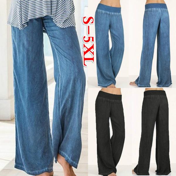 Women Pants, Plus Size, plus size jeans, Casual pants