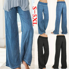 Women Pants, Plus Size, plus size jeans, Casual pants