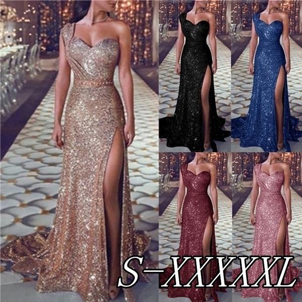 dinnerdre, Fashion, one shoulder dress, eveningdresseslong