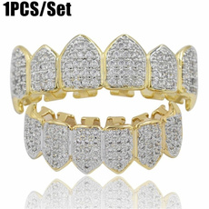 Cubic Zirconia, Grill, hip hop jewelry, Jewelry