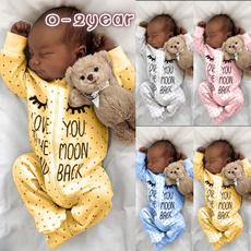 cute, Fashion, babyromper, Sleeve