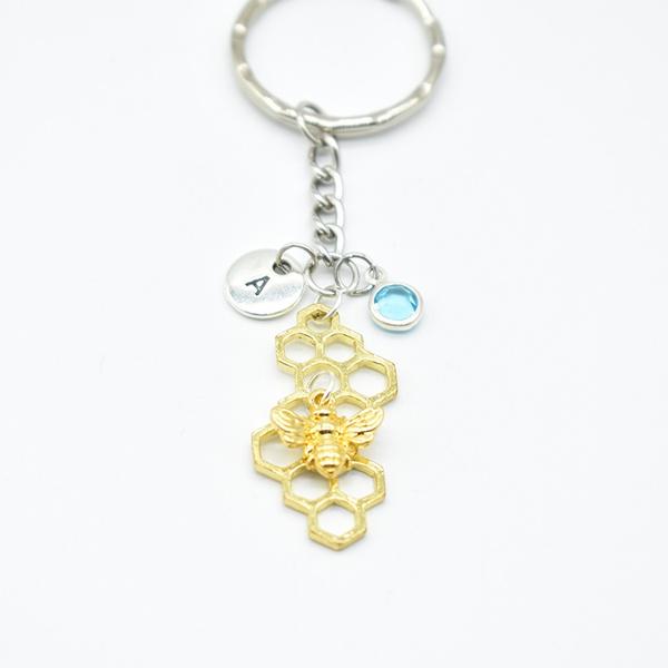 bumble, Key Chain, Jewelry, gold