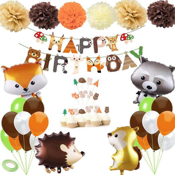 decoration, kidsbirthdayballoon, Aluminum, birthdayballoon