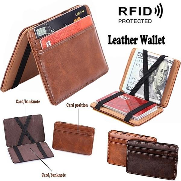 case, leather wallet, Men, Magic