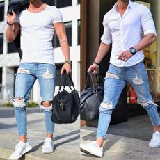 men's jeans, Fashion, monkey, men trousers