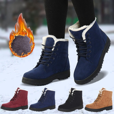 ankle boots, cottonshoe, Plus Size, studentsboot