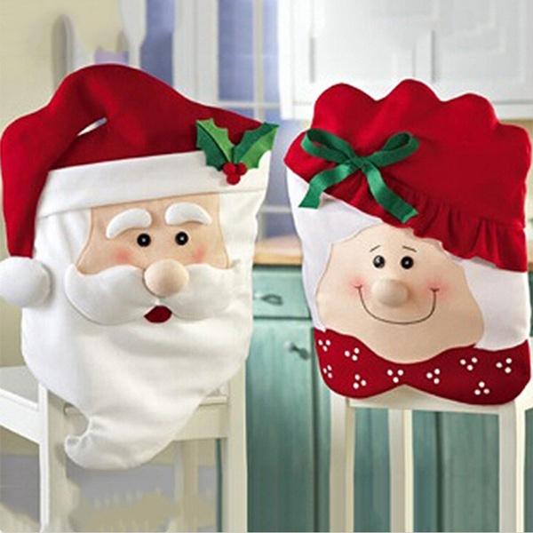 Fashion, Christmas, christmaschaircover, christmaschairbackcover