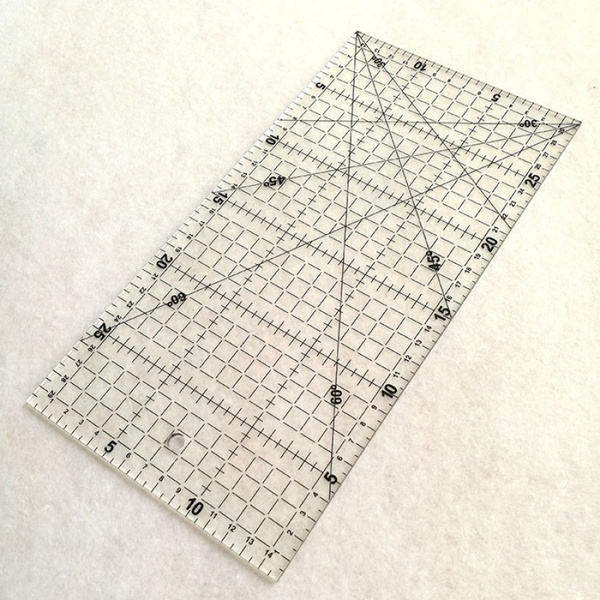 sewingtool, Quilting, patchworkruler, Home & Living
