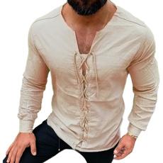 Fashion, cottonlinen, Medieval, Shirt