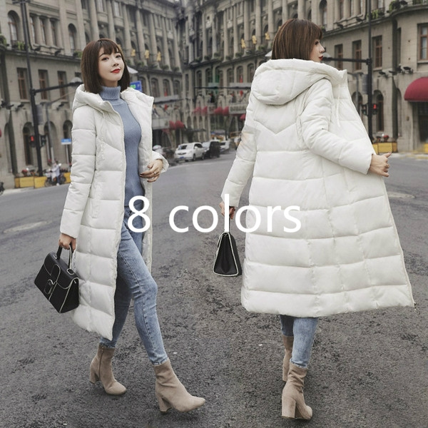 Casual Jackets, hooded, Winter, Cotton-padded clothes